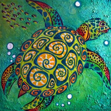 4f117d6172637c256fbf503ad35ae321--sea-turtle-painting-sea-turtle-art